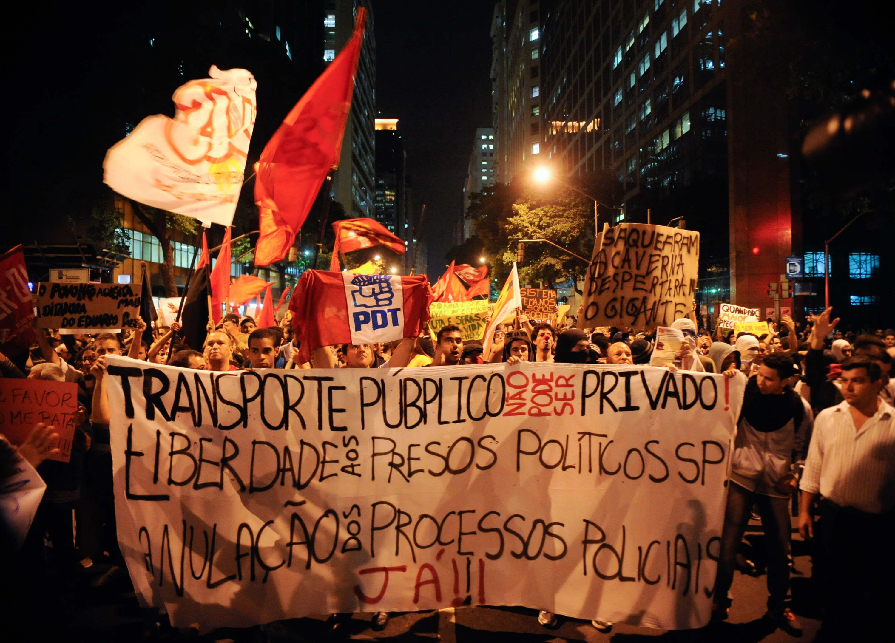 Protests held across Brazil after Rio councillor shot dead